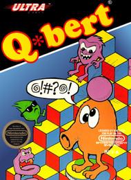 Q Bert Nintendo NES For Nintendo NES Vintage Arcade - EE694102