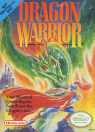 Dragon Warrior For Nintendo NES Vintage RPG - EE694104