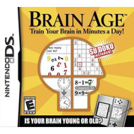 Brain Age For Nintendo DS DSi 3DS 2DS Puzzle - EE694157