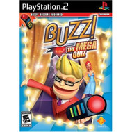 Buzz: The Mega Quiz Software Only For PlayStation 2 PS2 Trivia - EE694278