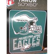 NFL Philadelphia Eagles Silk Touch Throw Helmet Football Multi-Color 5 - EE690663