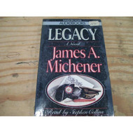 Legacy By James A Michener On Audio Cassette - EE694474
