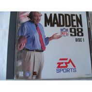 Madden NFL Footbal '98 For PlayStation 1 PS1 Football With Manual and - EE694693