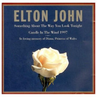 Something About Way You Look Tonight / Candle 1997 By Elton John On - EE695016