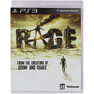 Rage For PlayStation 3 PS3 Shooter - EE695142