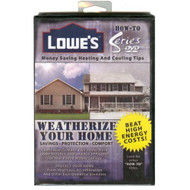 Lowe's How-To Series On DVD Weatherize Your Home - EE695312