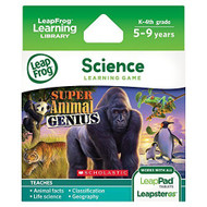 Leapfrog Explorer Game: Super Animal Genius For LeapPad And Leapster - EE695327