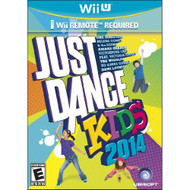 Just Dance Kids 2014 For Wii U With Manual And Case - EE695409