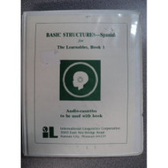 Basic Structures-Spanish For The Learnables Book 1 Audio-Cassettes By - EE695515