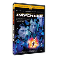 Paycheck Full Screen Edition On DVD With Ben Affleck - EE695615