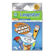Leapfrog Leapster Learning Game Mr Pencil's Learn To Draw And Write - EE695655