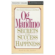 Secrets For Success And Happiness By Og Mandino On Audio Cassette - EE695676
