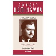 3: The Short Stories Volume III Short Stories Simon And Schuster Audio - EE695938