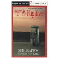 F Is For Fugitive Sue Grafton By Grafton Sue Kaye Judy Reader On Audio - EE695940