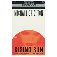 Rising Sun By Michael Crichton On Audio Cassette - EE695941
