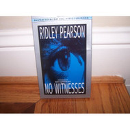 No Witnesses By Ridley Pearson On Audio Cassette - EE695951