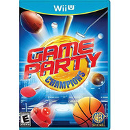 Game Party Champions For Wii U Arcade With Manual and Case - EE695983
