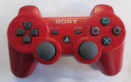 Sony OEM PS3 Dualshock 3 Controller Red For PlayStation 3 - ZZ696125