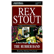 The Rubber Band Nero Wolfe Mysteries Audio By Rex Stout On Audio - EE696157