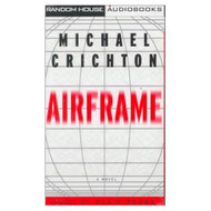 Airframe By Crichton Michael Brown Blair Reader On Audio Cassette - EE696180