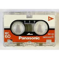Panasonic Microcassette MC-60 Tape 3-pack RT-603MC Blank - EE690680