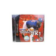 Dreamcast Game: World Series Baseball 2K1 For Sega Dreamcast With - EE696344