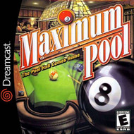 Maximum Pool For Sega Dreamcast With Manual and Case - EE696345