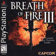 Breath Of Fire III For PlayStation 1 PS1 - EE696358