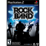 Rock Band Game Only For PlayStation 2 PS2 Music - EE696369
