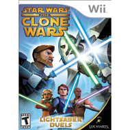 Star Wars The Clone Wars: Lightsaber Duels For Wii - EE696387