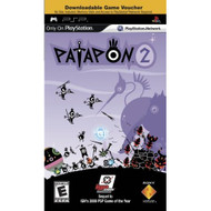 Patapon 2 Downloadable Game Voucher Sony For PSP UMD Music - EE696456