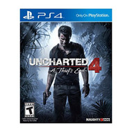 Uncharted 4: A Thief's End PlayStation 4 PS4 - ZZ696546