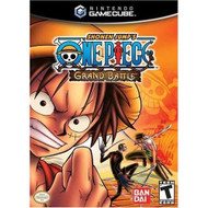 One Piece Grand Battle For GameCube With Manual and Case - EE696767