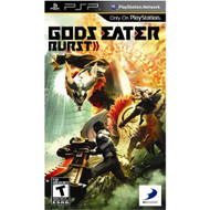 Gods Eater Burst Sony For PSP UMD Fighting With Manual and Case - EE696882