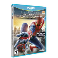 The Amazing Spider-Man For Wii U Fighting With Manual And Case - EE696888