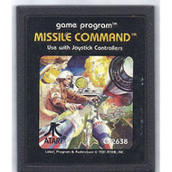 Missile Command For Atari Vintage Arcade - EE696930