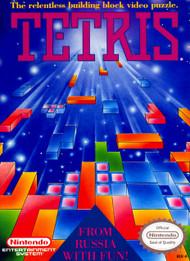 Tetris For Nintendo NES Vintage Puzzle Games - EE697000