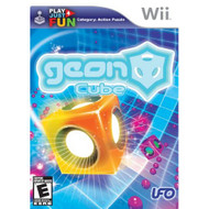 Geon Cube For Wii Puzzle With Manual and Case - EE697014