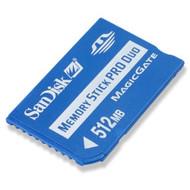 SanDisk SDMSPD-512-A10 512 MB Memorystick Pro Duo For PSP UMD Memory - EE697133