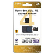 4GB Memory Stick Micro Media M2 Duo Adaptor - EE697136