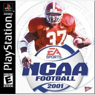 NCAA Football 2001 For PlayStation 1 PS1 - EE697214