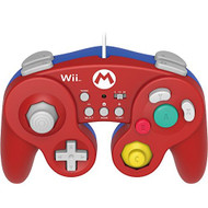 Hori Battle Pad For Wii U Mario Version With Turbo Nintendo Wii U For - EE697268