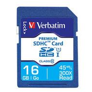 Verbatim 96808 16GB Secure Digital High Capacity Memory Card - EE697304