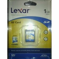 Lexar 1 GB Secure Digital Flash Card SD/1GB BC80935 - EE697303