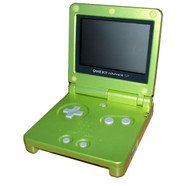 Game Boy Advance SP Lime Green Game Boy Advance AGS-001 - EE697392