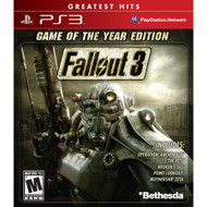 Fallout 3: Game Of The Year Edition For PlayStation 3 PS3 Shooter - EE697457