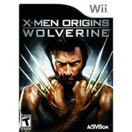 X-Men Origins: Wolverine For Wii With Manual And Case - EE697515