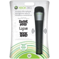 Wireless Microphone For Xbox 360 Black - EE697546