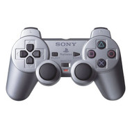 Sony OEM PS2 Dualshock 2 Controller Satin Silver For PlayStation 2 - EE697561