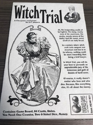 Witch Trial Card Game Toy - EE697658
